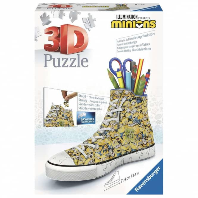 3D Puzzle - Sneaker - Minions - 108 Teile