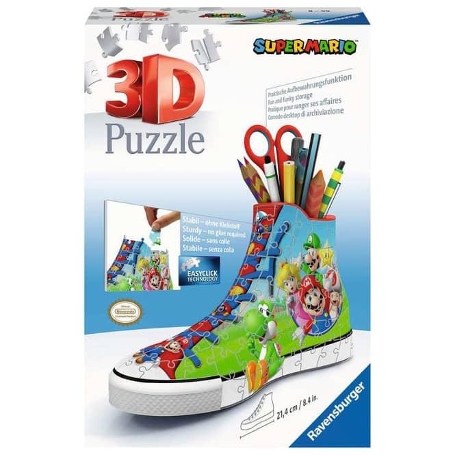 3D Puzzle - Sneaker - Super Mario - 108 Teile
