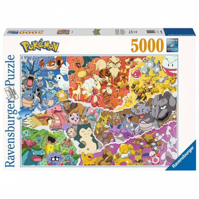 Puzzle - Pokémon Allstars - 5000 Teile