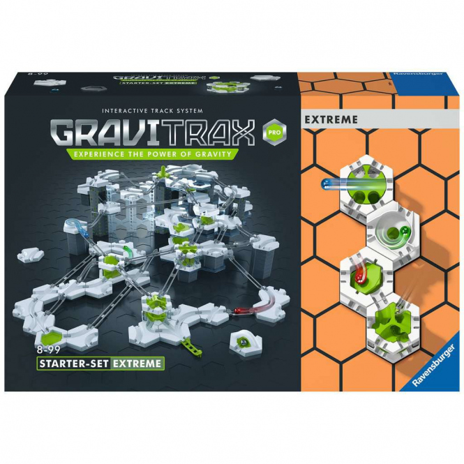 GraviTrax PRO Kugelbahn - Starter-Set Extreme