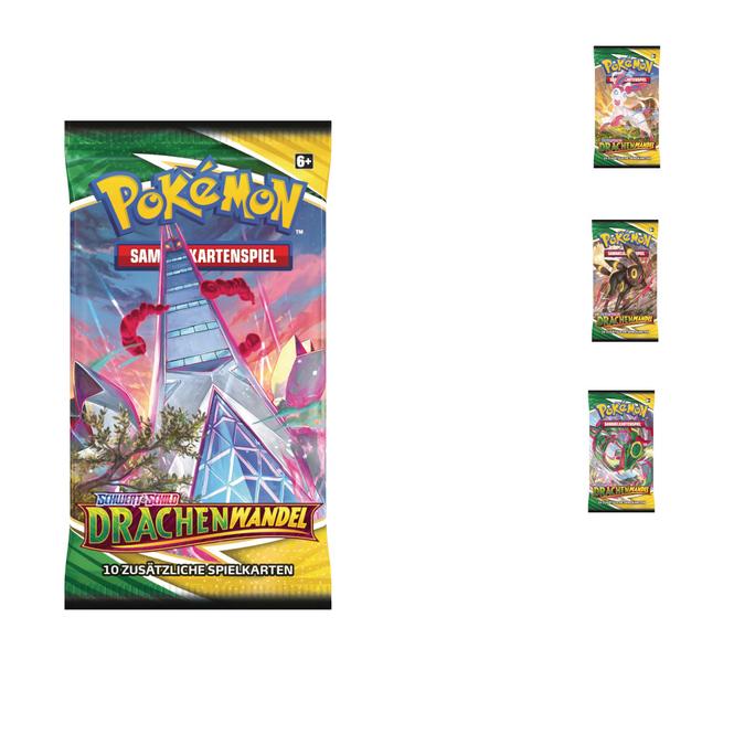 Pokémon  - SWSH07 Drachenwandel Booster - 1 Stück