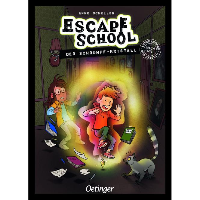 Escape School - Der Schrumpf-Kristall