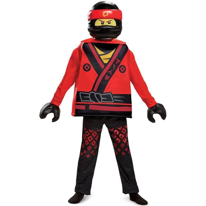 LEGO® Ninjago Kostüm - Kai - Deluxe-Serie - 4-teilig - verschiedene Größen