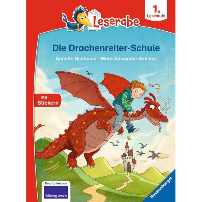 Die Drachenreiter-Schule - Leserabe - 1. Lesestufe