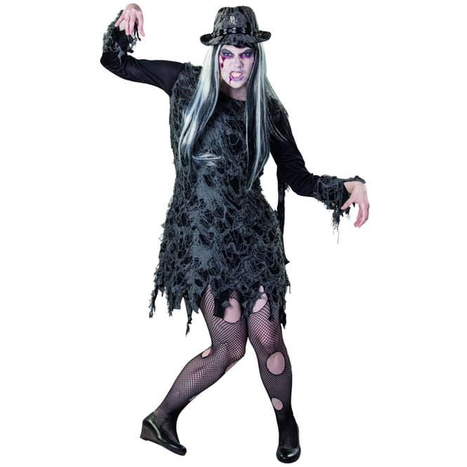 Kostüm - Zombielady - für Erwachsene