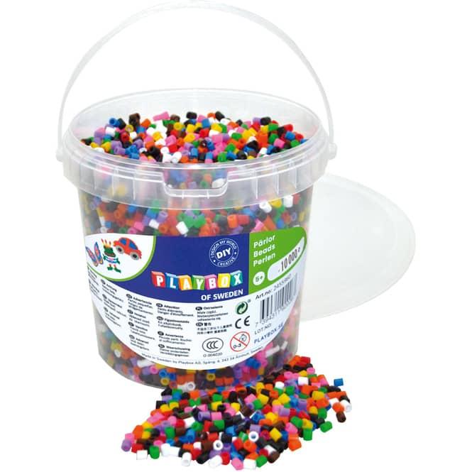 Bügelperlen - 10000 Perlen