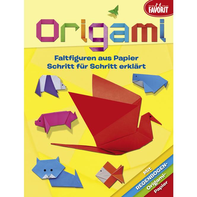 Origami - Faltfiguren aus Papier - Schritt für Schritt erklärt