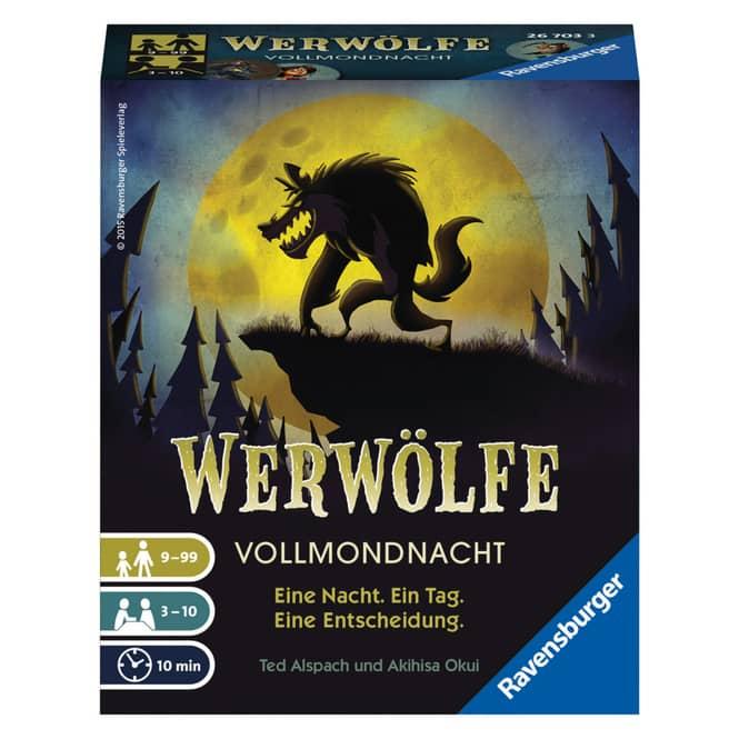 Werwölfe Vollmondnacht - Eine Nacht, ein Tag, eine Entscheidung - Ravensburger