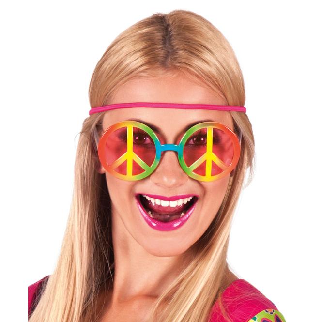 Brille - Hippie - für Erwachsene