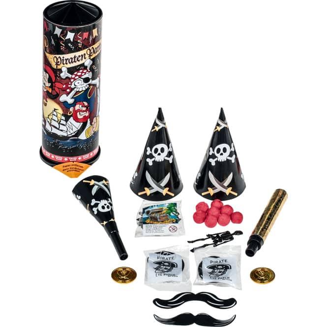 Tischbombe - Piraten Party - 10-teilig