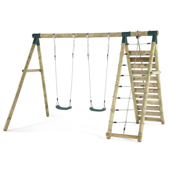 Plum - Schaukel- und Kletterset mit vielen Spielmöglichkeiten  - Uakari - ca. 300 x 220 x 220 cm