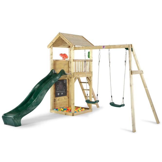Plum - Holz-Aussichtsturm mit Zubehör - ca. 3,64 x 2,75 x 2,42 m