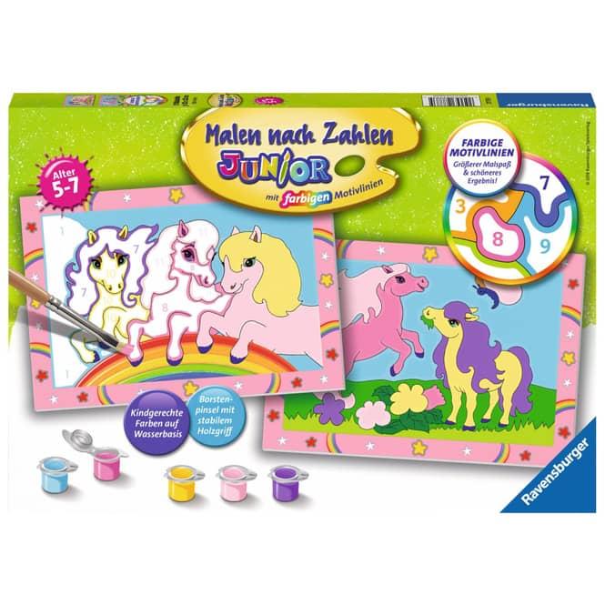 Malen nach Zahlen - Süße Ponys - Junior Serie