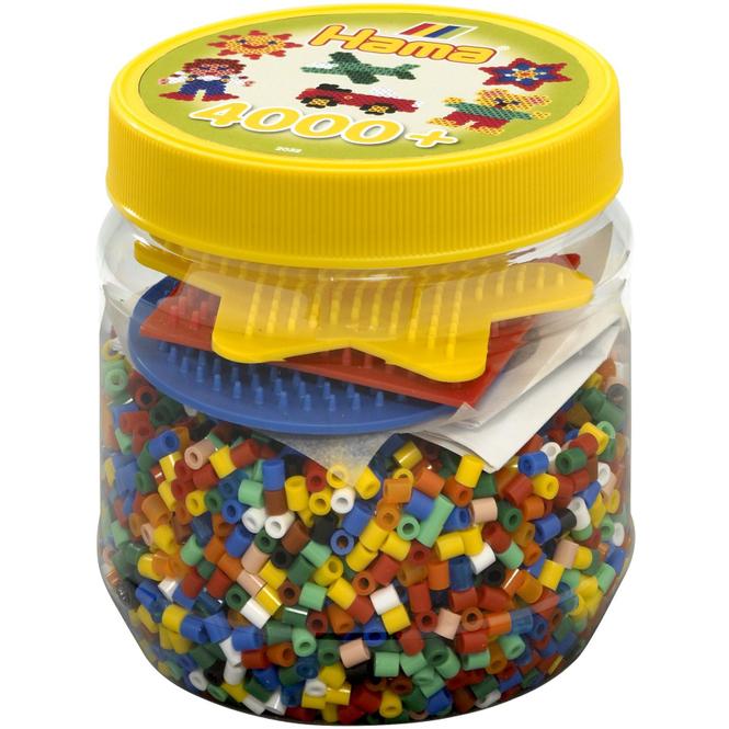 Hama Bügelperlen - 4000 Perlen - gelb