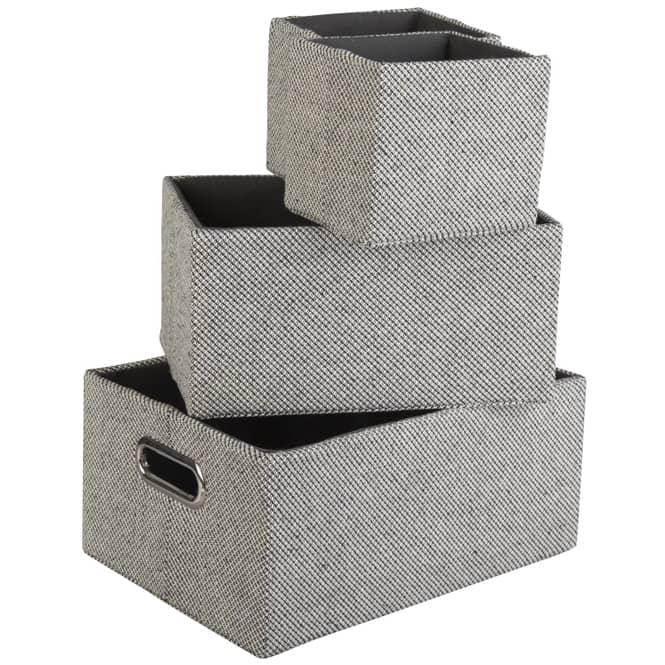 Aufbewahrungsbox - aus Stoff - 1 Stück