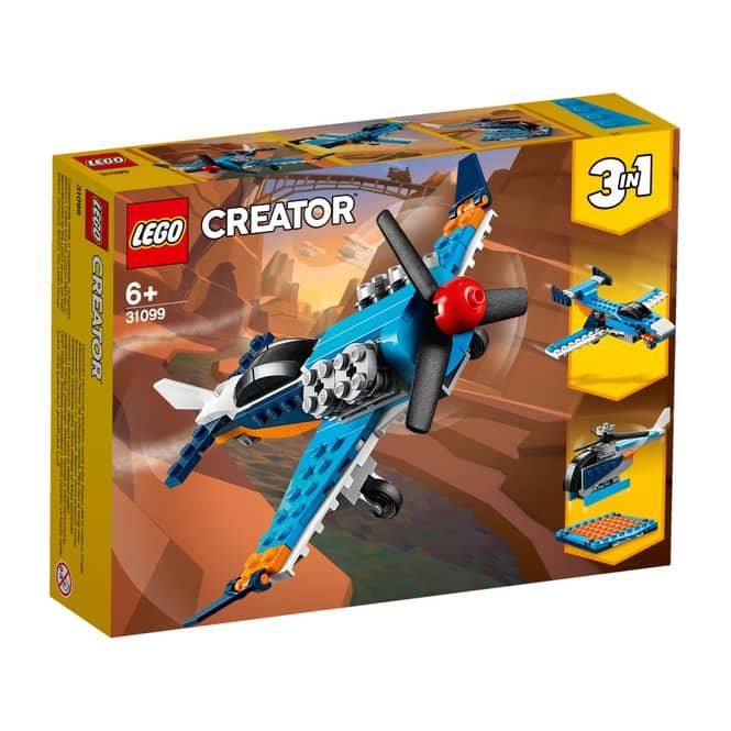 LEGO® Creator 31099 - Propellerflugzeug