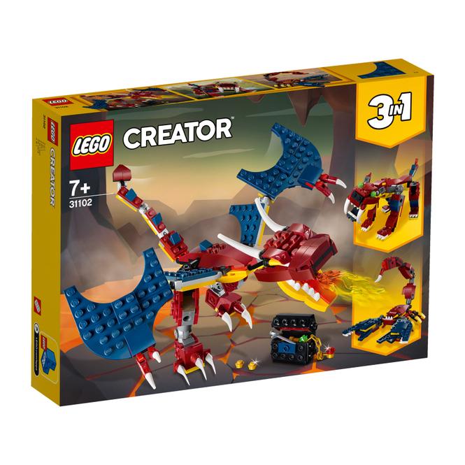 LEGO® Creator 31102 - Feuerdrache