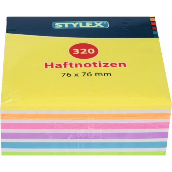 Haftnotizblock - 320 Blatt - 7,6 x 7,6 cm