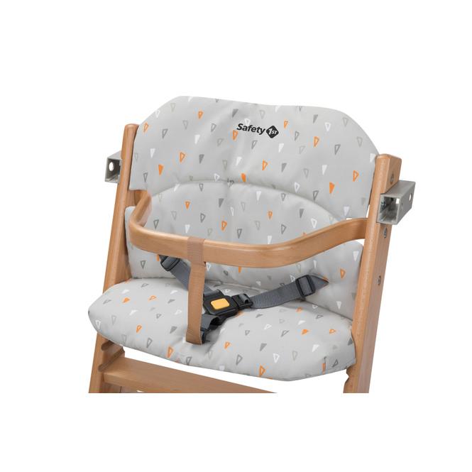 Sitzkissen zu Hochstuhl - Timba - Farbe: Warm Grey