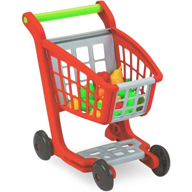 Einkaufswagen mit Obst und Gemüse - 12-teilig