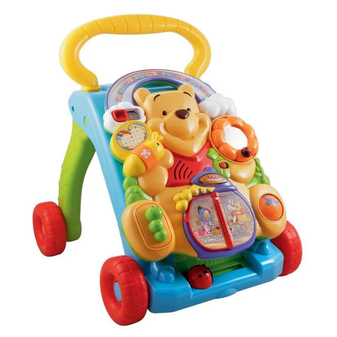 Vtech - Winnie Pooh s 2-in-1 Lauflernwagen