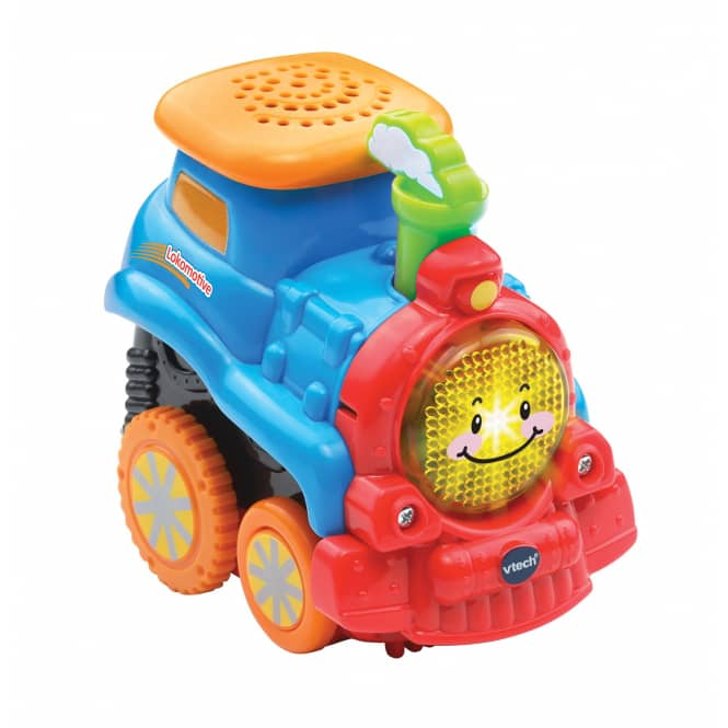VTech - Tut Tut Baby Flitzer Press &Go - Lokomotive