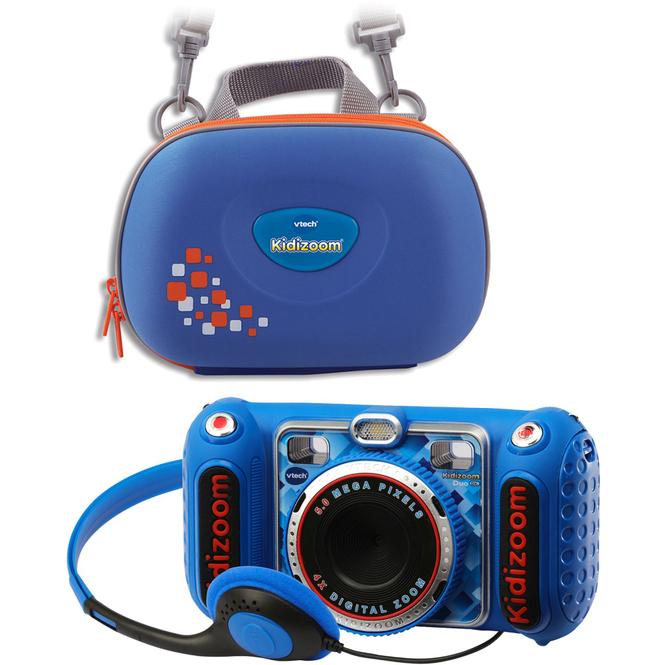 VTech - Kidizoom Duo DX - blau - inkl. Tragetasche