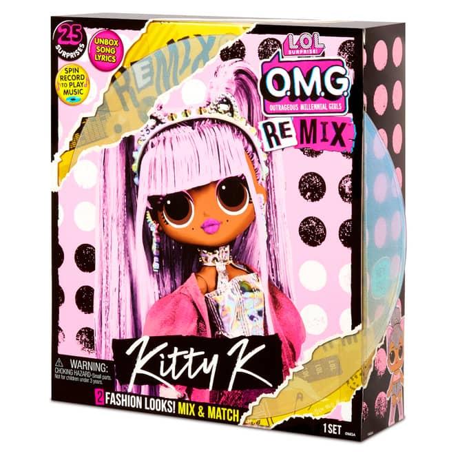 L.O.L. Surprise! - O.M.G. Remix Puppe - Kitty K