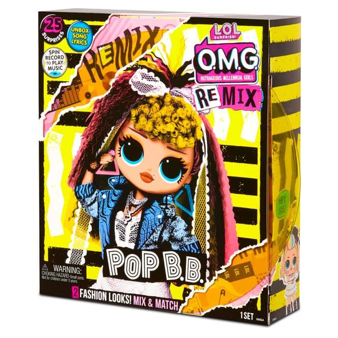 L.O.L. Surprise! - O.M.G. Remix Puppe - Pop B.B.