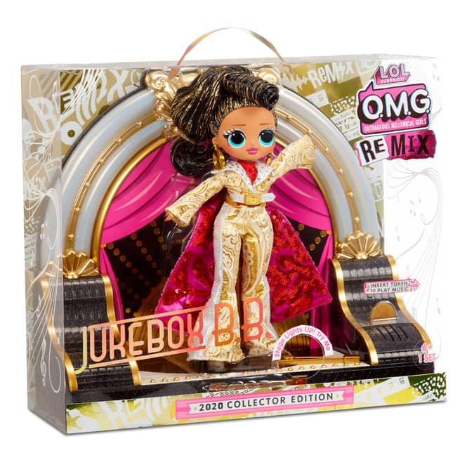 L.O.L. Surprise! - O.M.G. Remix Puppe - Jukebox B.B. - 2020 Collector Edition