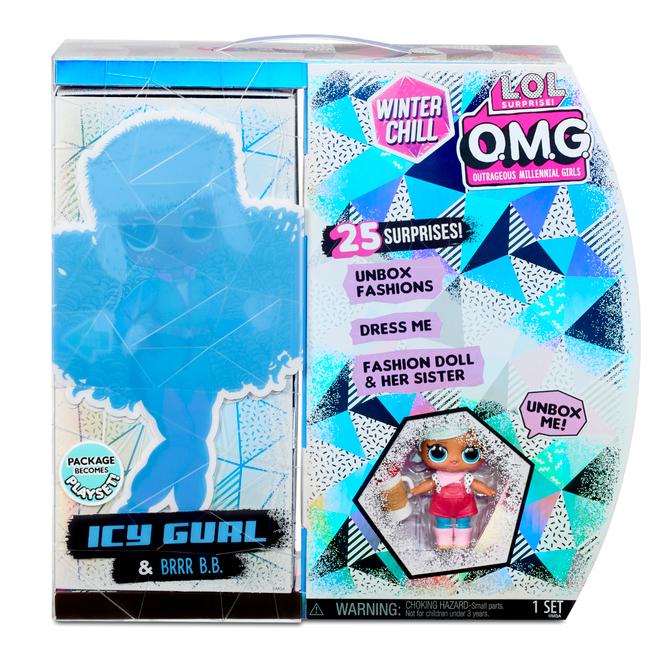 L.O.L. Surprise! - O.M.G. Winter Chill Puppen - Icy Gurl & Brrr B.B.