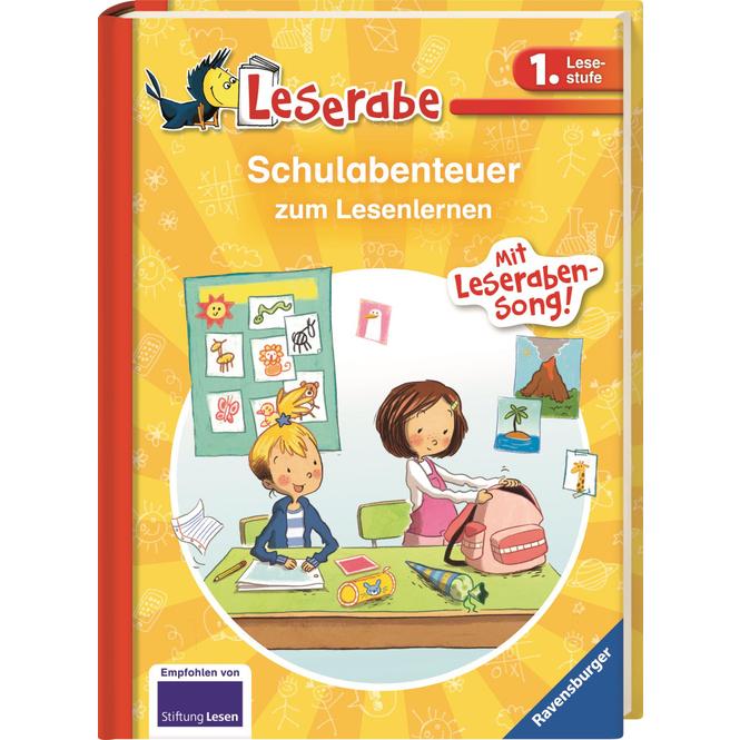Schulabenteuer zum Lesenlernen - Leserabe - 1.Lesestufe