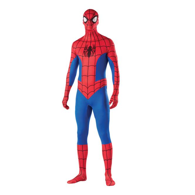Ultimative Spiderman Kostüm - 2nd Skin® Overall - für Erwachsene