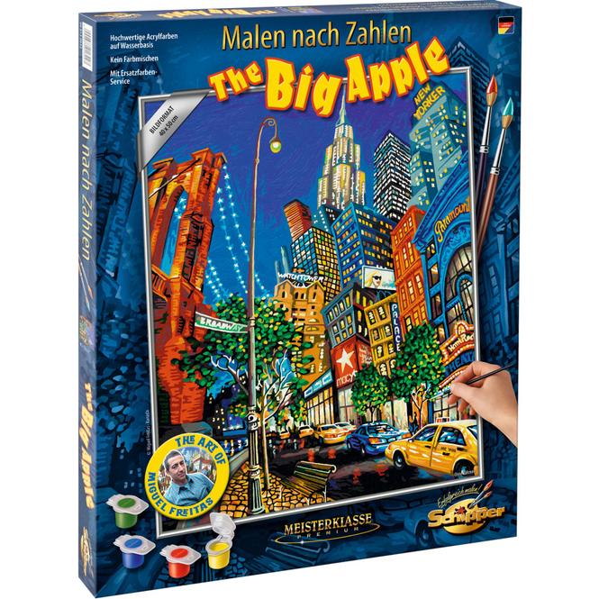 Malen nach Zahlen - The Big Apple