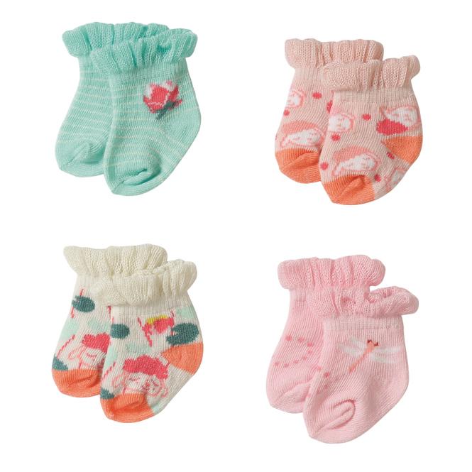 Baby Annabell - 2 Paar Socken - 43 cm - verschiedene Desings