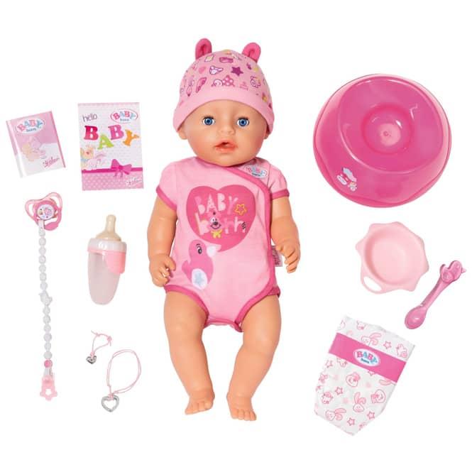 Baby Born - Soft Touch Mädchen - blaue Augen - Puppe - ca. 43 cm