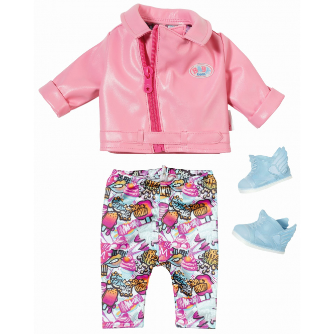 Baby Born - Play & Fun - City Scooter Deluxe Outfit