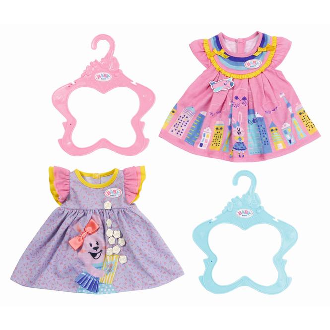 BABY born -  1 Kleid - 2 verschiedene Designs
