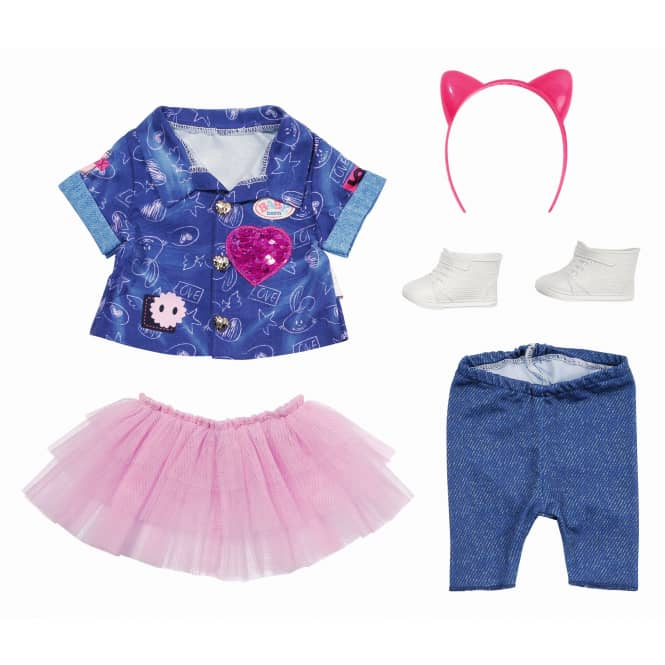 BABY born - Deluxe Jeans Kleid Set