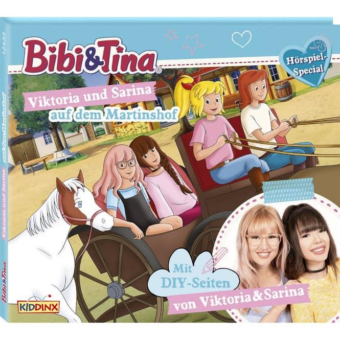 Bibi und Tina - Hörspiel CD - Viktoria und Sarina auf dem Martinshof