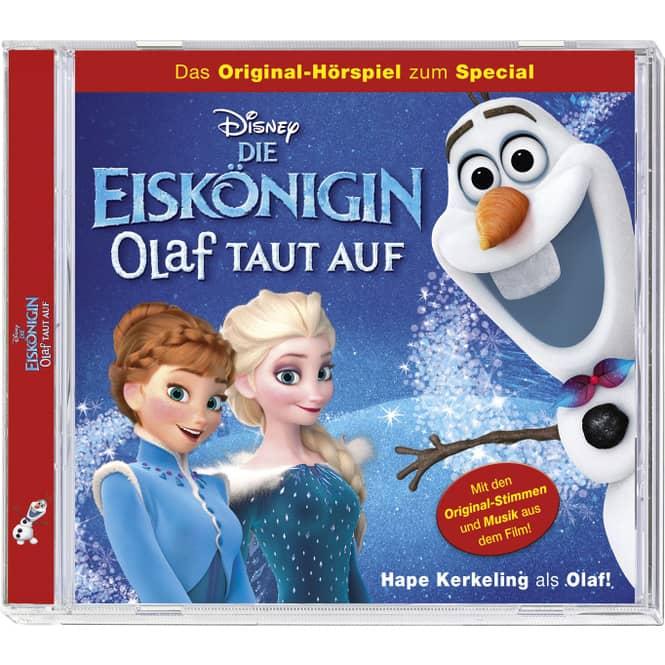 Die Eiskönigin - Hörspiel CD - Olaf taut auf