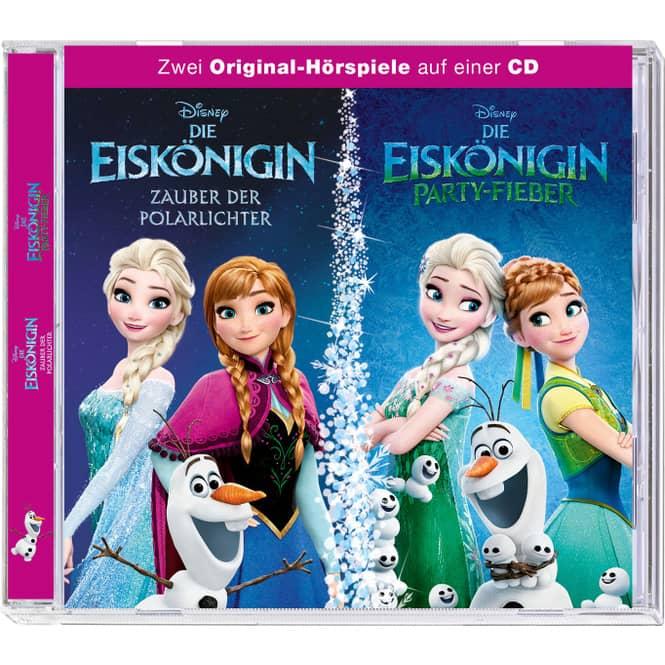 Die Eiskönigin 2 - Hörspiel CD - Zauber der Polarlichter und Party-Fieber