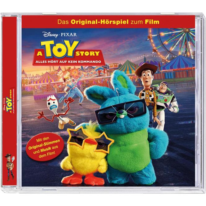 A Toy Story - Hörspiel CD - Alles hört auf kein Kommando