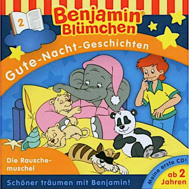 Benjamin Blümchen - Hörspiel CD - Folge 2 - Gute-Nacht Geschichten