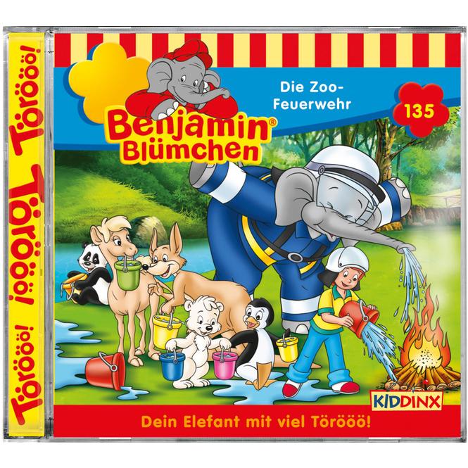 Benjamin Blümchen - Hörspiel CD - Folge 135 - Die Zoo-Feuerwehr