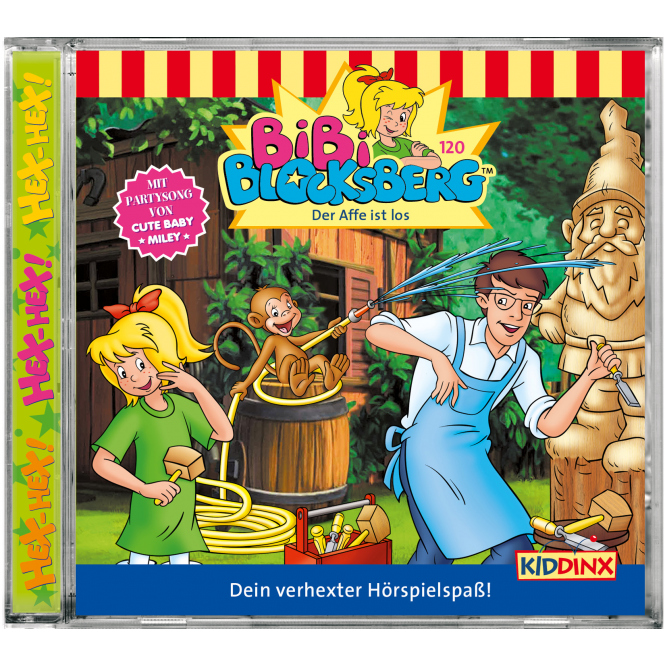 Bibi Blocksberg - Hörspiel CD - Folge 120 - Der Affe ist los