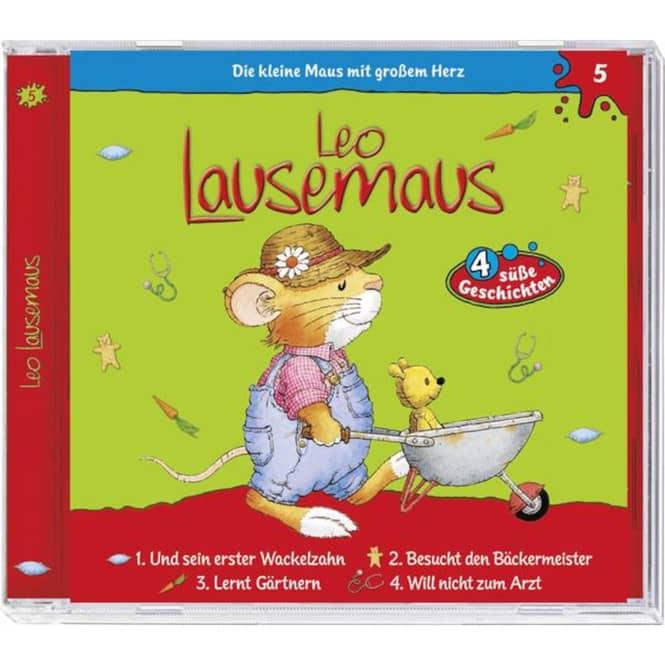 Leo Lausemaus - Hörspiel CD - Folge 5 - 4 süße Geschichten
