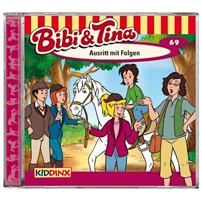 Bibi und Tina - Hörspiel CD - Folge 69 - Ausritt mit Folgen