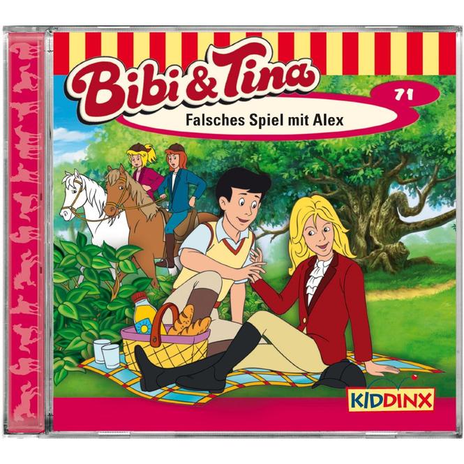 Bibi und Tina - Hörspiel CD - Folge 71 - Falsches Spiel mit Alex