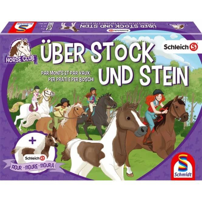 Schleich - Horse Club - Über Stock und Stein - Kinderspiel